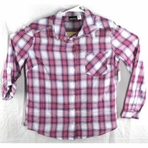 Thin Button Down Long Sleeve Lg NWOT C514DL251519